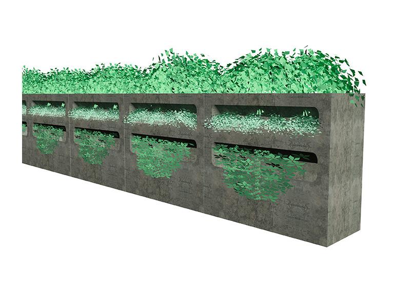 PALA grönvägg