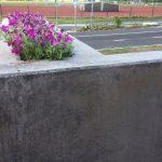 PALA bänk med planteringsplats
